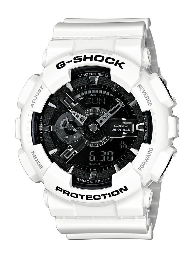 фото g-shock белые
