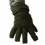 Тёплые перчатки Keotica Active, мембрана на флисе, олива темная, фото 1