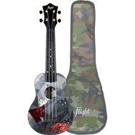 Укулеле - гавайская гитара Flight TUS 21P, сопрано, с чехлом, фото 1