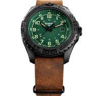 Часы  Traser P96 OdP Evolution Green 109038 с кожаным ремешком, фото 1