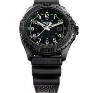 Часы Traser P96 OdP Evolution Black 108672 с каучуковым ремешком, фото 1