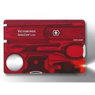 Швейцарская карта Victorinox SwissCard 0.7300.T, 13 функций