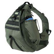 Однолямочный тактический рюкзак Kiwidition Maura, зеленый