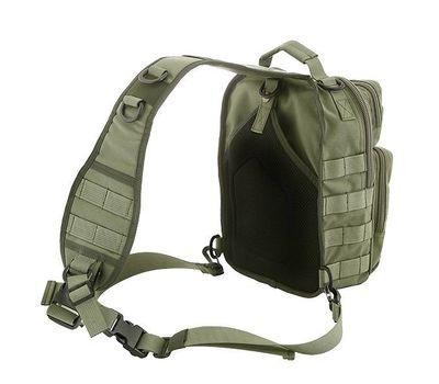 Однолямочный тактический рюкзак Kiwidition Matangi  зеленый