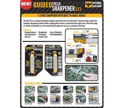Точилка Work Sharp Guided Field Sharpener 2.2.1