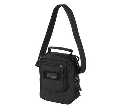 Наплечная сумка Kiwidition Rata City черная, фото 1