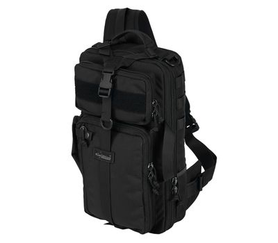 Однолямочный тактический рюкзак Kiwidition Tawaho City 15 черный, фото 1