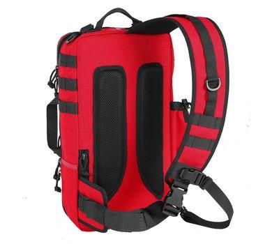 Однолямочный тактический рюкзак Kiwidition Tawaho City 15 черный, фото 2