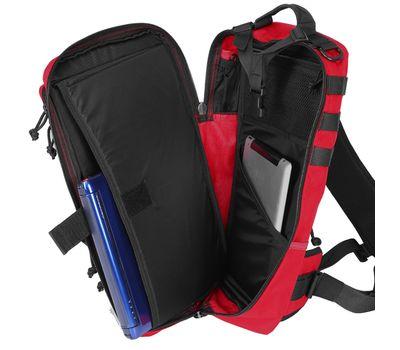 Однолямочный тактический рюкзак Kiwidition Tawaho City 15 черный, фото 5