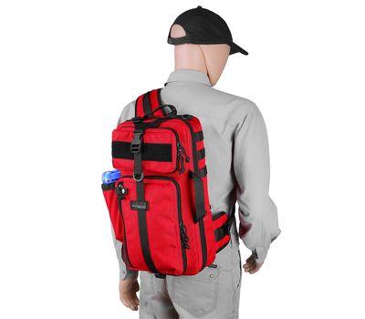 Однолямочный тактический рюкзак Kiwidition Tawaho City 15 черный, фото 7