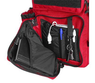 Однолямочный тактический рюкзак Kiwidition Tawaho City 10 черный, фото 4