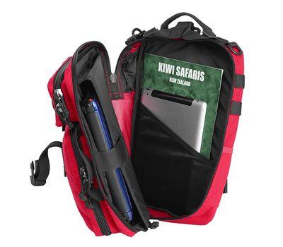 Однолямочный тактический рюкзак Kiwidition Tawaho City 10 черный, фото 5