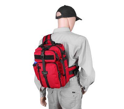 Однолямочный тактический рюкзак Kiwidition Tawaho City 10 черный, фото 7