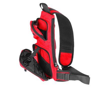 Однолямочный тактический рюкзак Kiwidition Muri City черный, фото 4