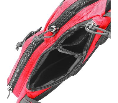 Однолямочный тактический рюкзак Kiwidition Muri City черный, фото 5