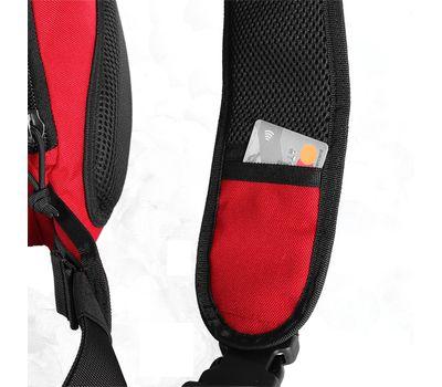 Однолямочный тактический рюкзак Kiwidition Muri City черный, фото 6
