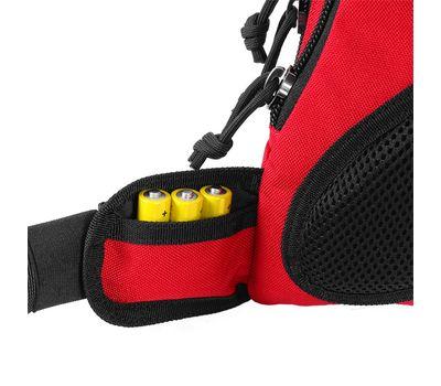 Однолямочный тактический рюкзак Kiwidition Muri City черный, фото 7