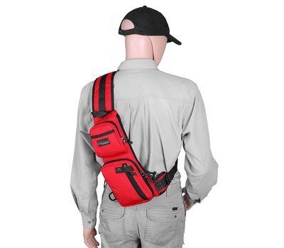Однолямочный тактический рюкзак Kiwidition Muri City черный, фото 8