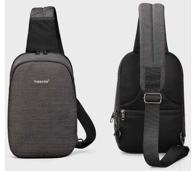 "Однолямочный рюкзак Tigernu T-S8061, серый, 11"", фото 5"
