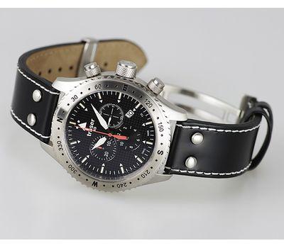 Часы Traser Aviator Jungmann с кожаным ремешком, фото 1