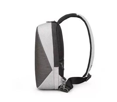"""Однолямочный рюкзак Tigernu T-S8061,светло-серый, 11"""", фото 2"""