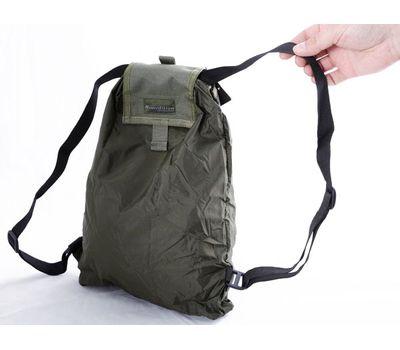 Складной рюкзак-подсумок Kiwidition Peke Sack, чёрный, фото 3