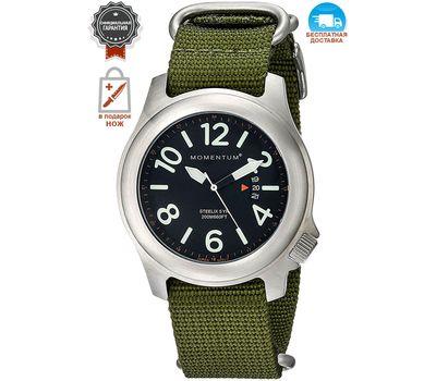 Часы Momentum Steelix Mineral (зелёный нато)