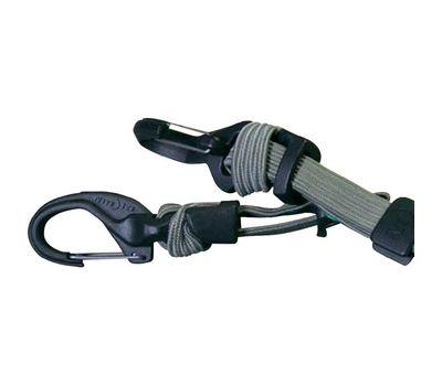 Такелажное крепление с карабином и веревкой Nite Ize Knotbone Adjustable Flat Bungee KBBF 03 26