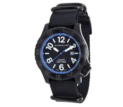 Часы Momentum Torpedo Blast Blue BLACK-ION (нато), фото 1