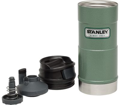 Термостакан Stanley Classic Mug 0.35L 1-Hand, зелёный, фото 2