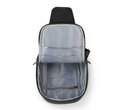 "Однолямочный рюкзак Tigernu T-S8061, серый, 11"", фото 4"