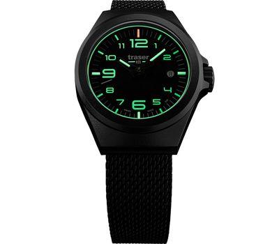 Часы Traser P59 Essential S Black, стальной браслет, фото 1