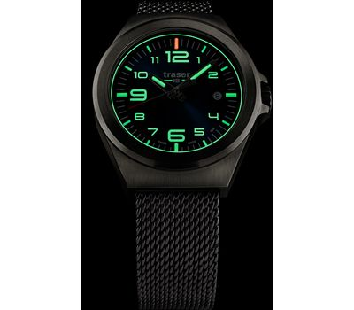 Часы Traser P59 Essential S Blue, стальной браслет, фото 2