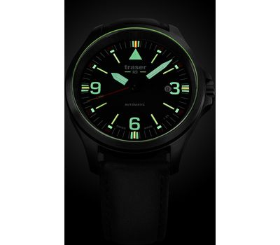 Часы Traser P67 Officer Pro Automatic Black, фото 1