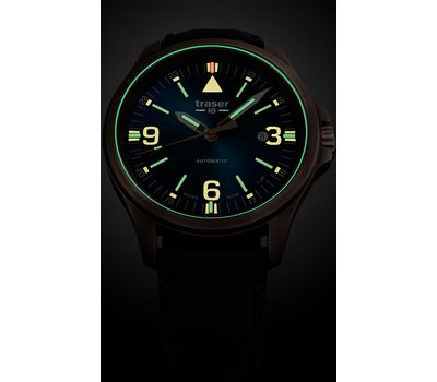 Часы Traser P67 Officer Pro Automatic Bronze Blue, фото 1