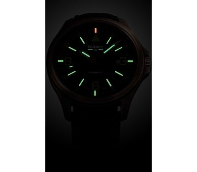 Часы Traser P67 Officer Pro Automatic Bronze Blue, фото 2