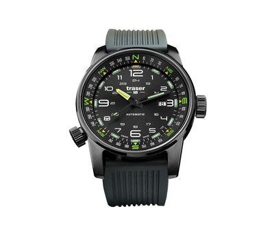 Часы Traser P68 Pathfinder Automatic Black, каучук, фото 1