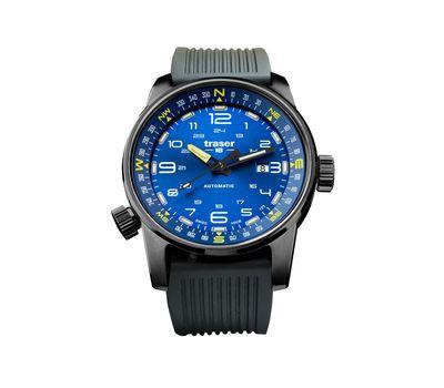 Часы Traser P68 Pathfinder Automatic Blue, каучук, фото 1