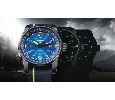 Часы Traser P68 Pathfinder Automatic Blue, каучук, фото 3