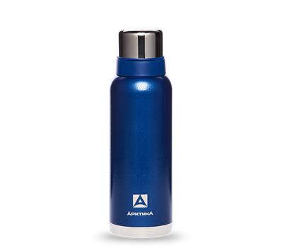 Термос Арктика 1.2 литра, американский дизайн, с узким горлом, синий 106-1200, фото 1