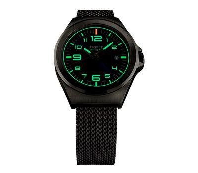 Часы Traser P59 Essential S BlackD, каучуковый ремешок, фото 2