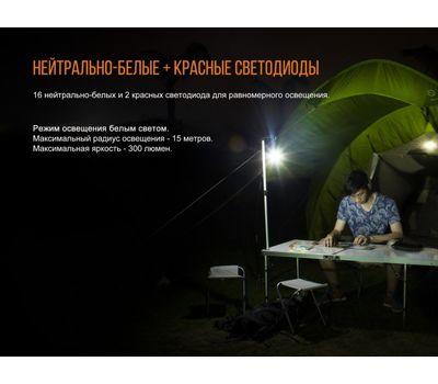 Кемпинговый фонарь Fenix CL20R оранжевый, фото 10