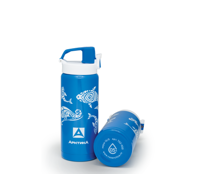 Термос сититерм Арктика 0.5 литра, 702-500 синий, фото 2
