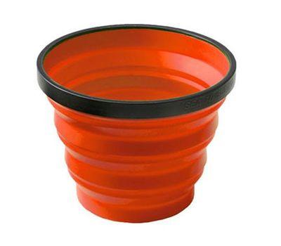 Складная силиконовая кружка Sea to Summit X-Cup Orange, фото 1