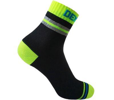 Непромокаемые носки Dexshell Pro Visibility - лето, жёлто-чёрные, фото 1