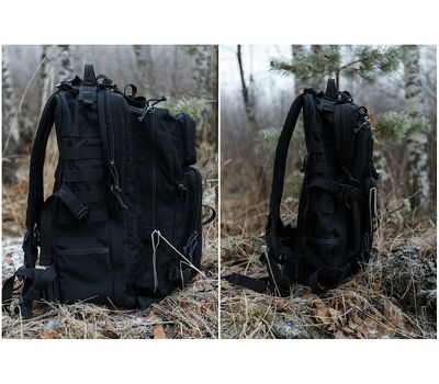 Тактический рюкзак Kiwidition Super Kahu Dark Grey, тёмно-серый, фото 3