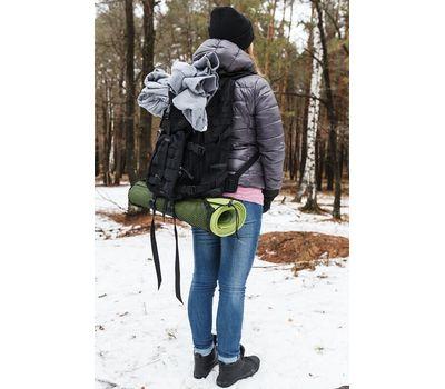 Тактический рюкзак Kiwidition Super Kahu Dark Grey, тёмно-серый, фото 2