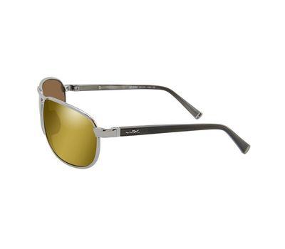 Поляризационные очки Wiley-x Klein янтарные ACKLE04, фото 2