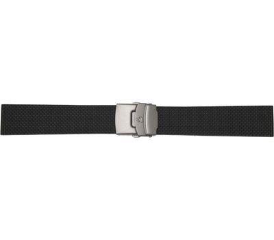 Каучуковый ремешок для часов, титановая застежка, 22 мм, фото 1
