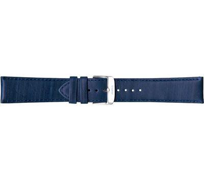 Кожаный ремешок для часов Traser №77, 22 мм, синий, фото 1
